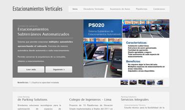 Diseño y programación: EstacionamientosVerticales.com