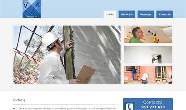 Vector4.es: Servicios de construcción y pintura en Madrid España