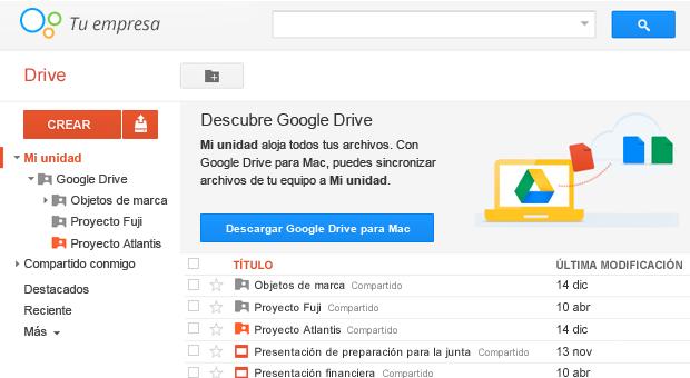 Accede a tus archivos desde cualquier navegador.
